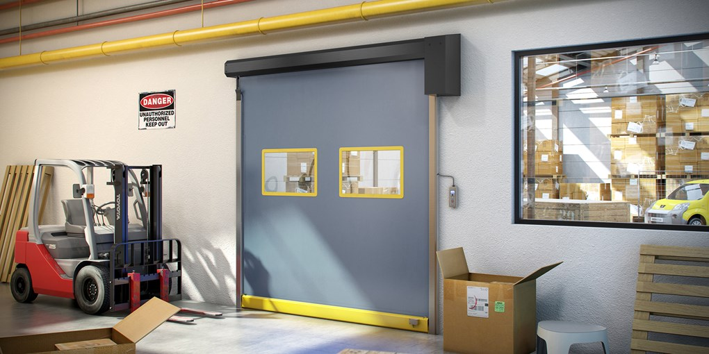 Albany Ultra Slim High Speed Door