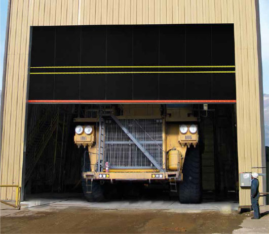 Albany M&I Ultra Big Extreme Duty High Speed Door