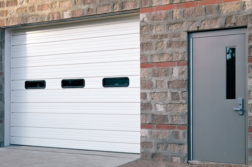 Sectional Steel Door 420 Wide
