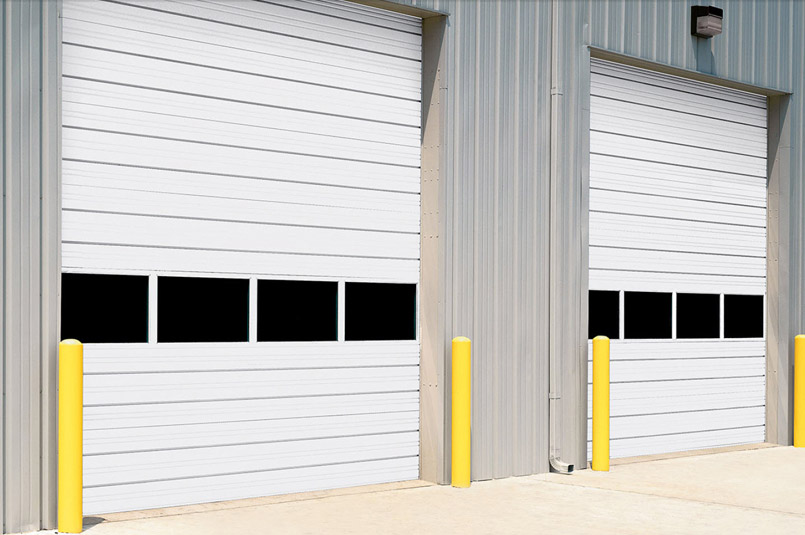 Sectional Steel Door 432 Wide