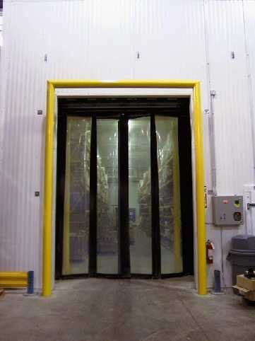 Fast Fold Freeze Door yellow