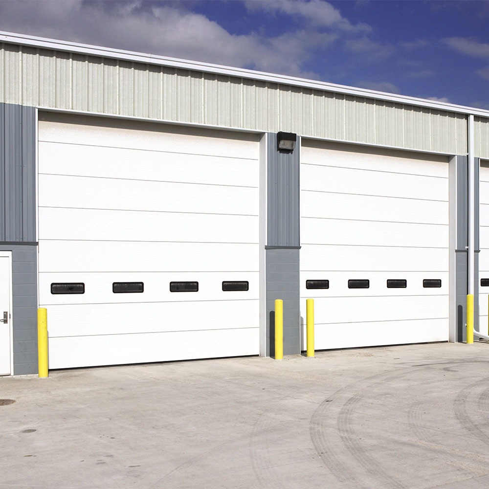 Wayne Dalton - Model 216 Steel Sectional Door